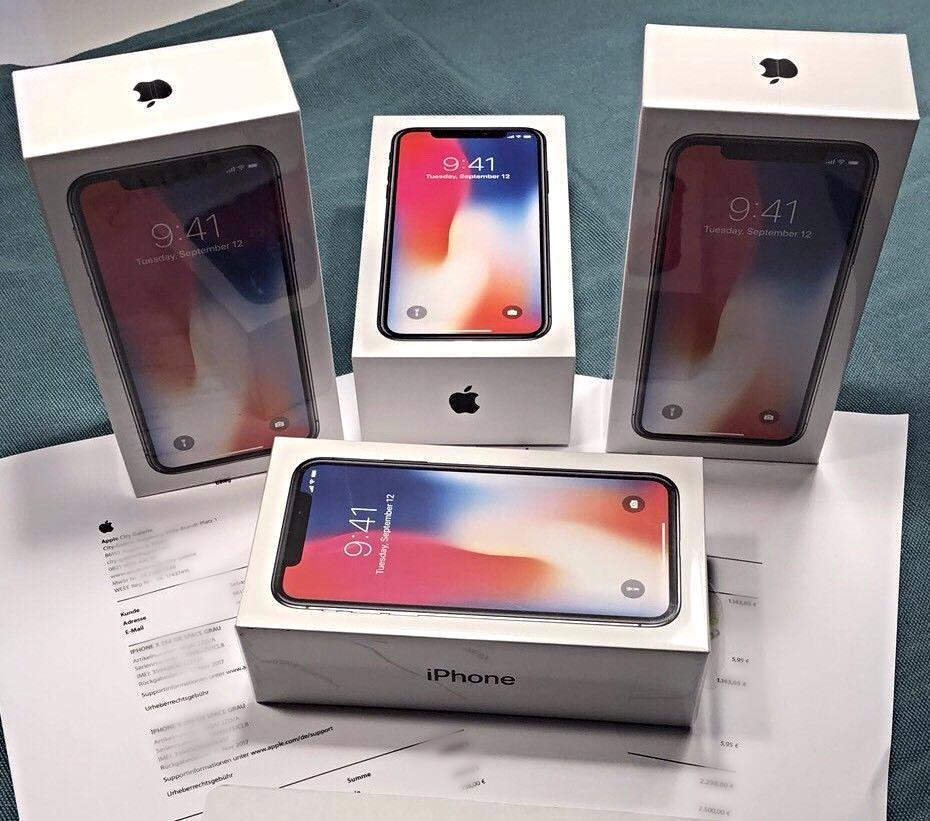 For Sale Apple iPhone X 256 GB with Facetime - App