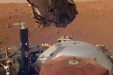First Sounds from Mars Are Here and This Is How It Sounds Like