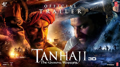 tanhaji the unsung warrior official trailer
